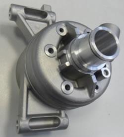 Machined parts of aluminium castings
